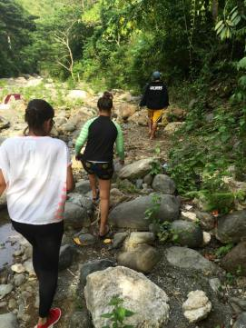 Walk to a waterless river